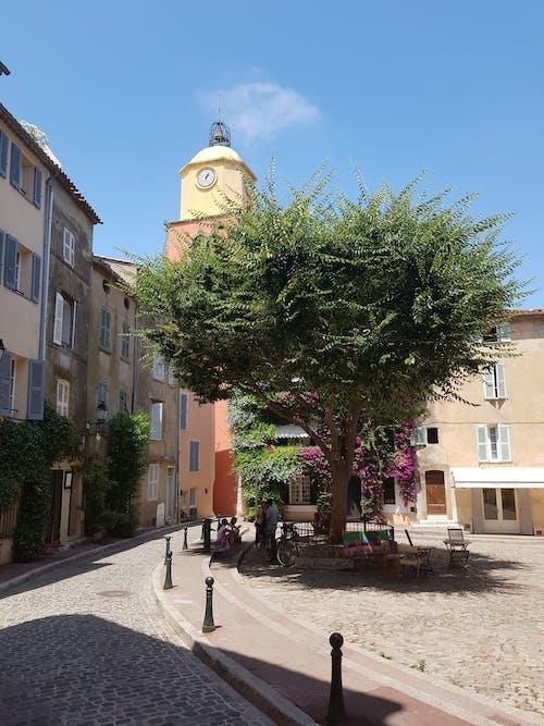 교회, 마을, 프로방스의 무료 스톡 사진