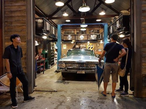 빈티지, 빈티지 자동차, 야시장의 무료 스톡 사진