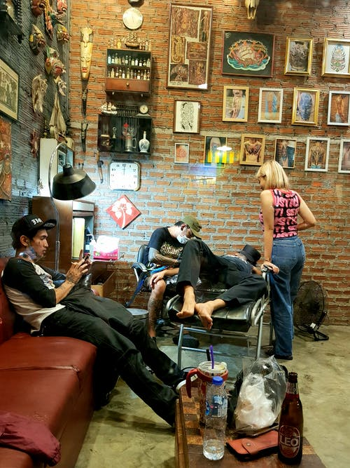 문신, 타투 스튜디오, 타투 아티스트, 편안한의 무료 스톡 사진