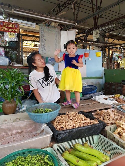 놀이, 새하얀, 시장, 어린이의 무료 스톡 사진