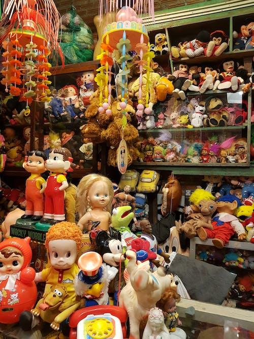 봉제 인형, 빈티지, 장난감의 무료 스톡 사진