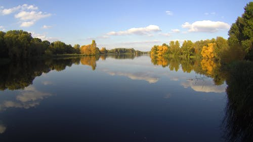 Panoramic Photography of Body of Water