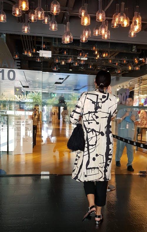 그래픽, 블랙 앤 화이트, 여성, 패션의 무료 스톡 사진