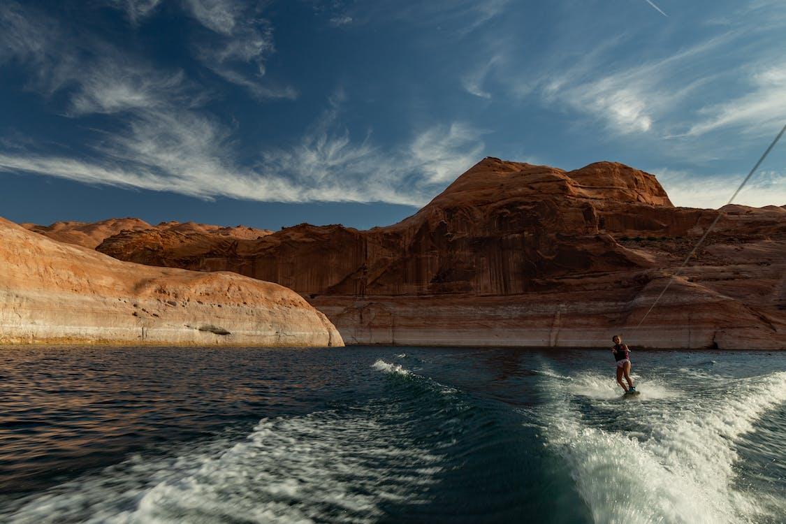 Immagine gratuita di corpo d'acqua, esterno, lago