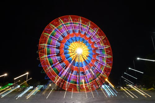 Immagine gratuita di alta velocità, Cielo scuro, colpo notturno, foto notturna