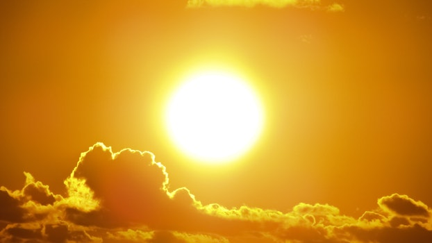 Kostenloses Stock Foto zu licht, strand, wolken, sonne
