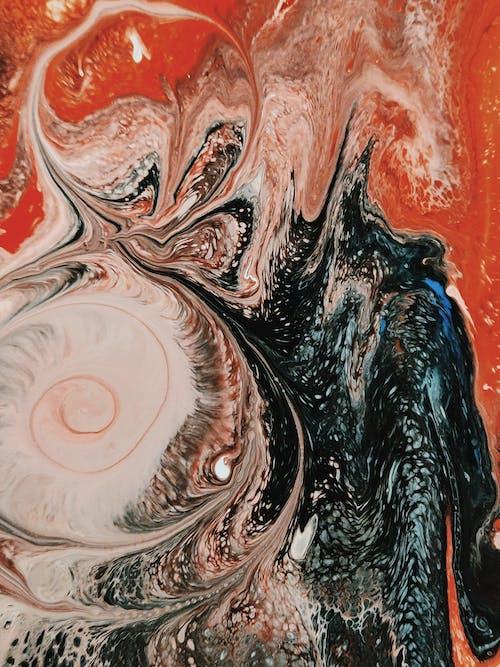 Δωρεάν στοκ φωτογραφιών με artsy, ακρυλική ζωγραφική, ακρυλική μπογιά, αφαίρεση