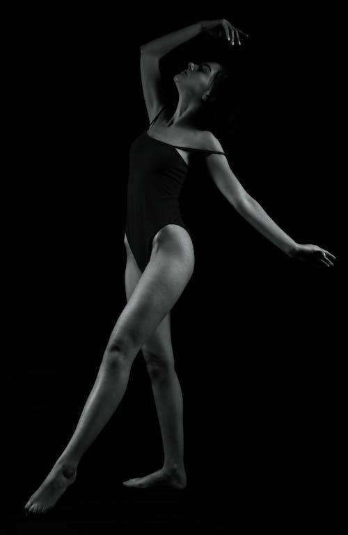 Immagine gratuita di ballerino, bianco e nero, femmina, londra