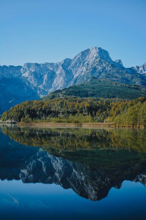 Gratis arkivbilde med fredelig, innsjø, landskap, natur