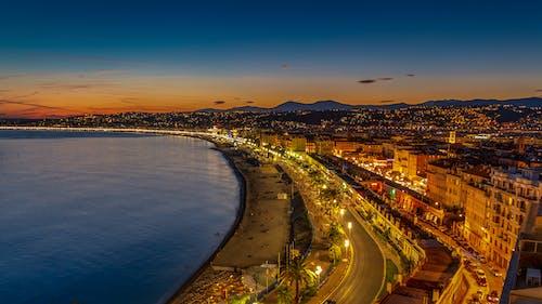 不錯, 南法国, 城市, 日出 的 免费素材照片