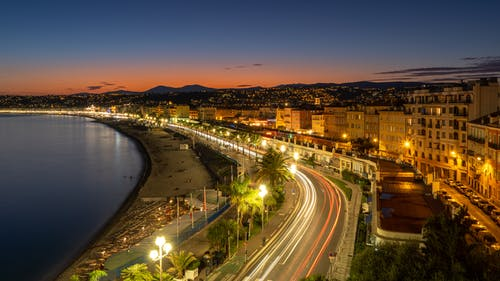 不錯, 南法国, 地中海, 城市 的 免费素材照片