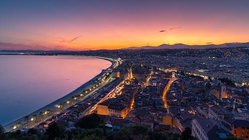 交通系統, 南法国, 地中海, 城市 的 免费素材照片