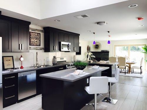 Imagine de stoc gratuită din acasă, aparate, bucătărie, bufet