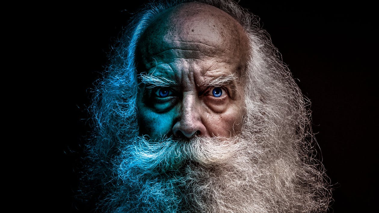 texture, the old man