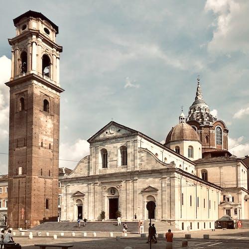 architettura, sindone的, 基耶萨, 大教堂 的 免费素材照片