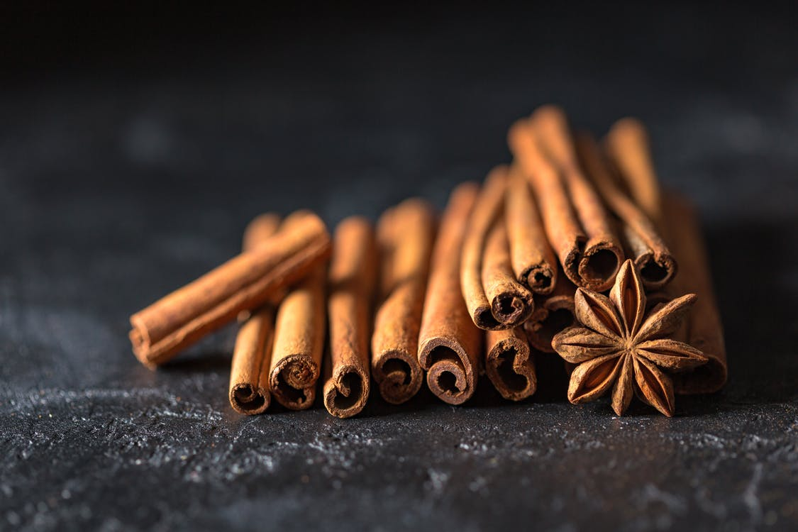 Selective Focus Photography of Cinnamon