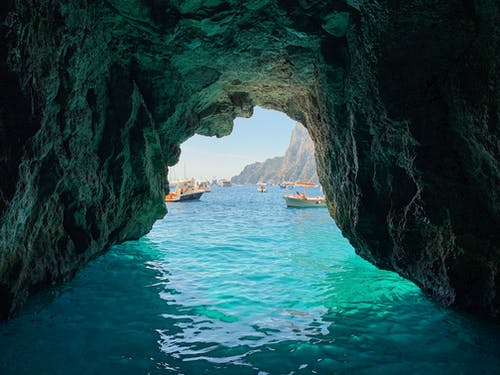 Ảnh lưu trữ miễn phí về amalfi, bờ biển Amalfi, cenote, cove