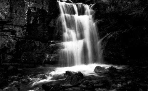 Free stock photo of flow, glacier, mountain, nature