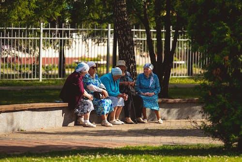 Immagine gratuita di anziano, donna, femmina, gruppo