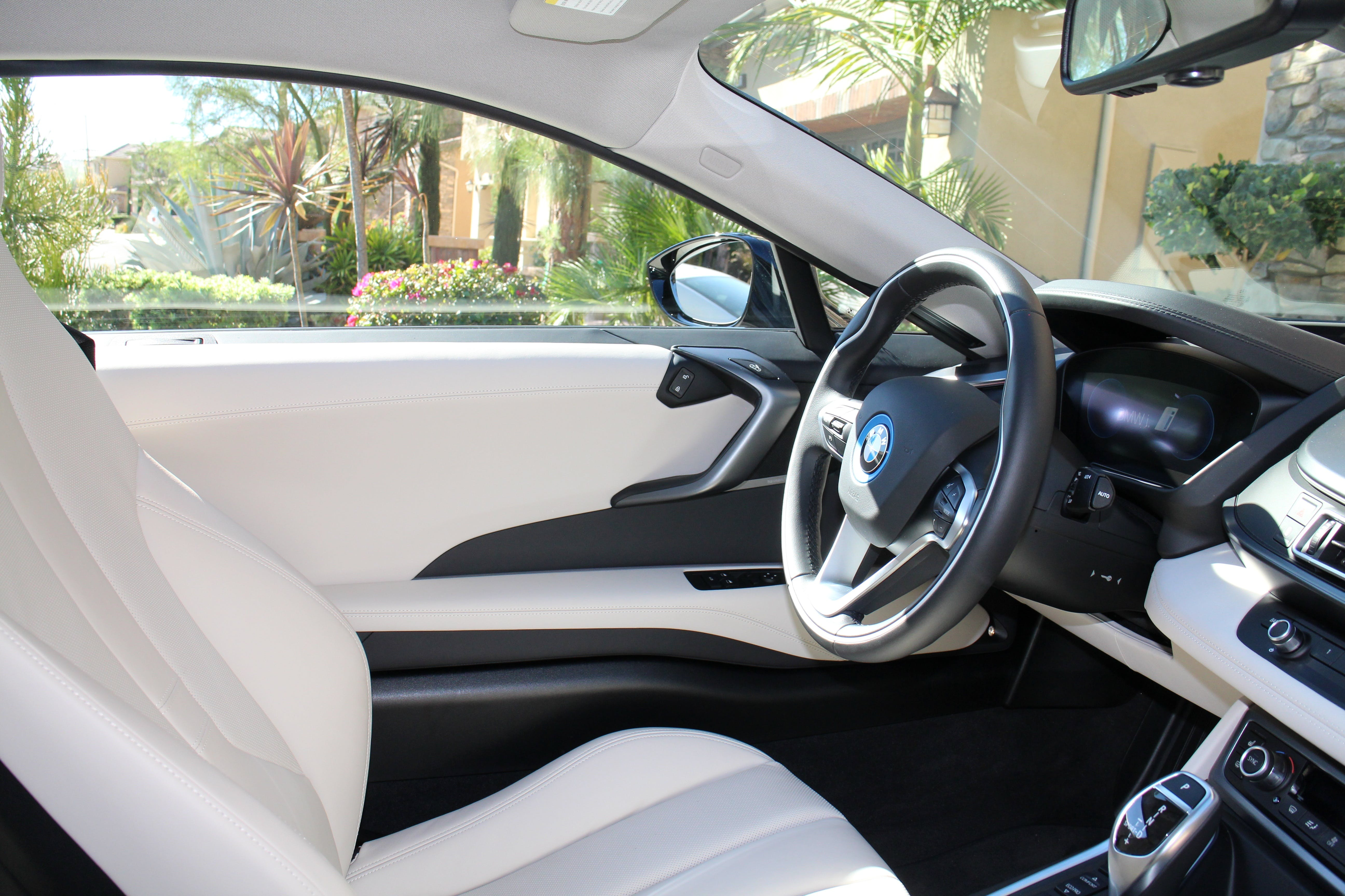 Gray and Black Car Interior