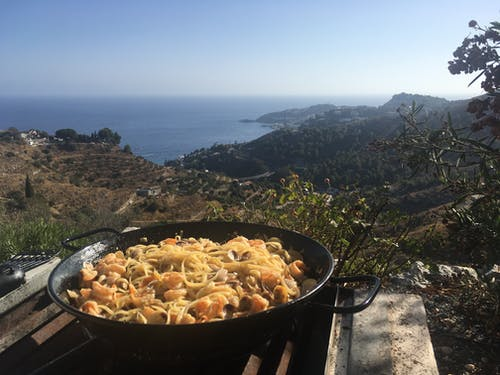 Photos gratuites de manger, spaghetti