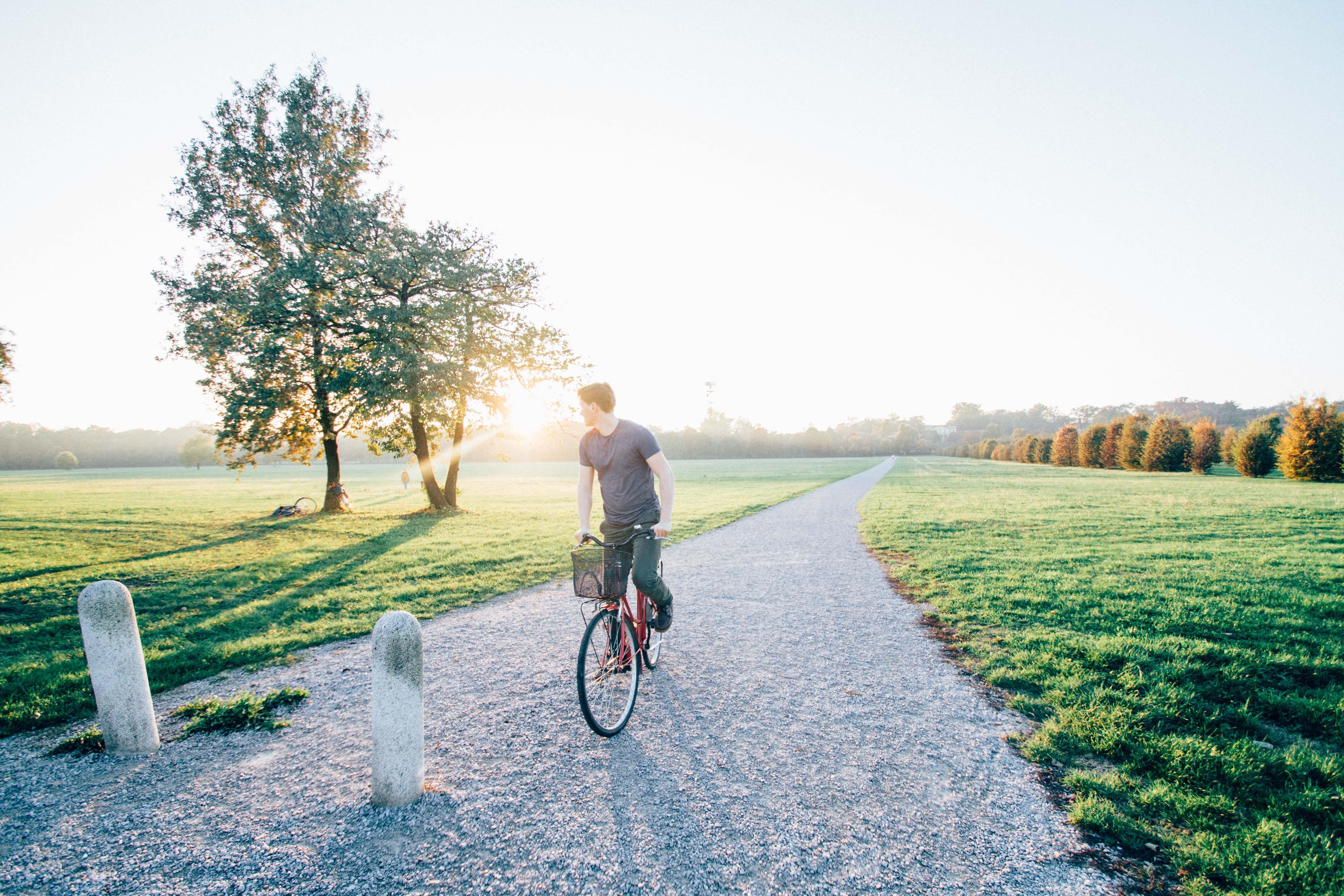 adventure, bicycle, bike