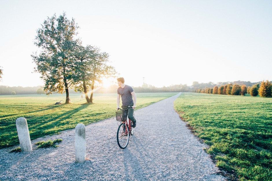 adventure, bike, cyclist