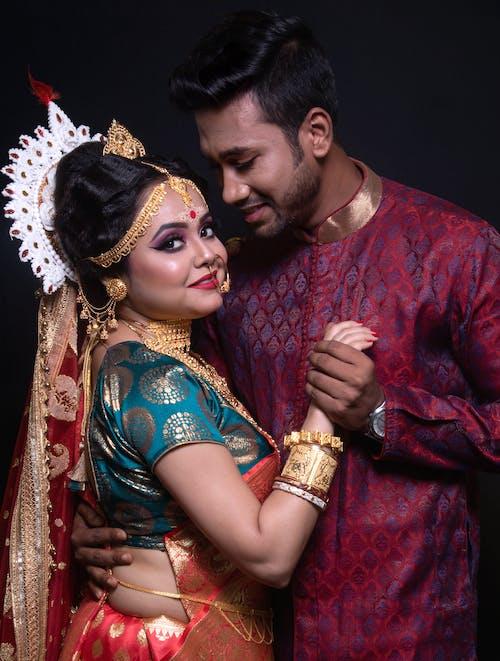 Základová fotografie zdarma na téma módní makeup, ragazza, svatební make-up