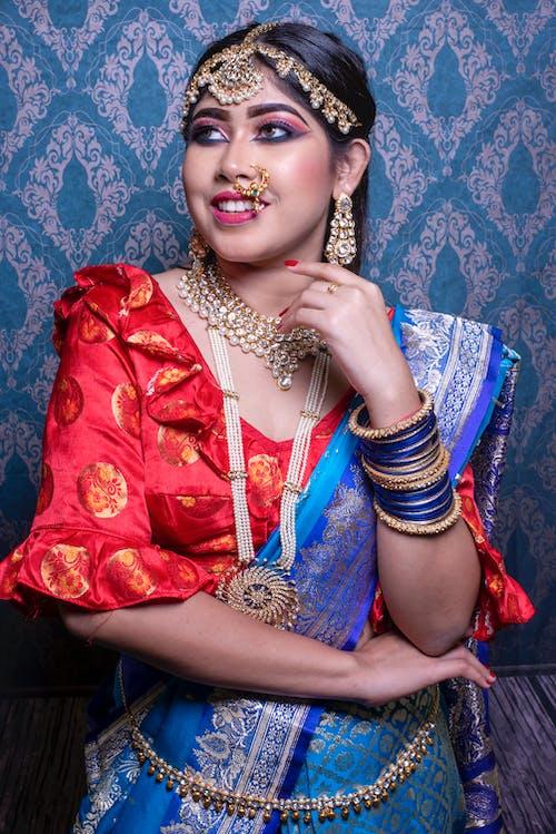Základová fotografie zdarma na téma móda, ragazza, svatební make-up