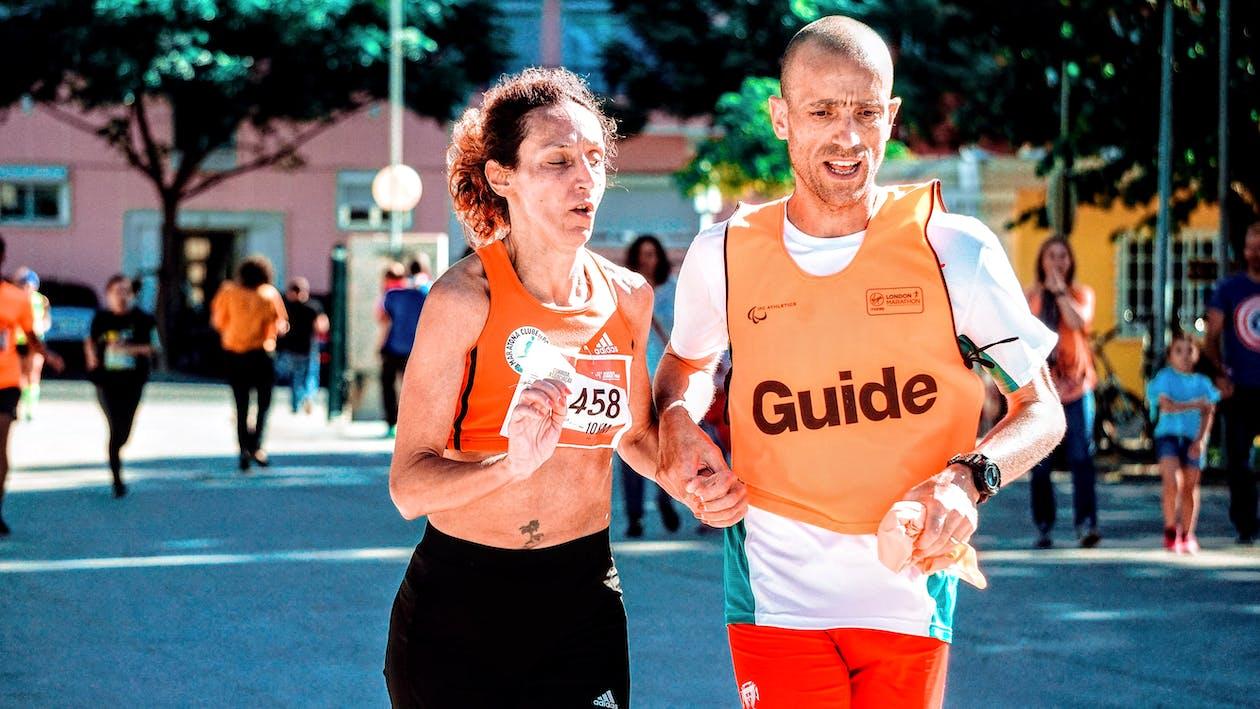 actividad, atletismo, calle