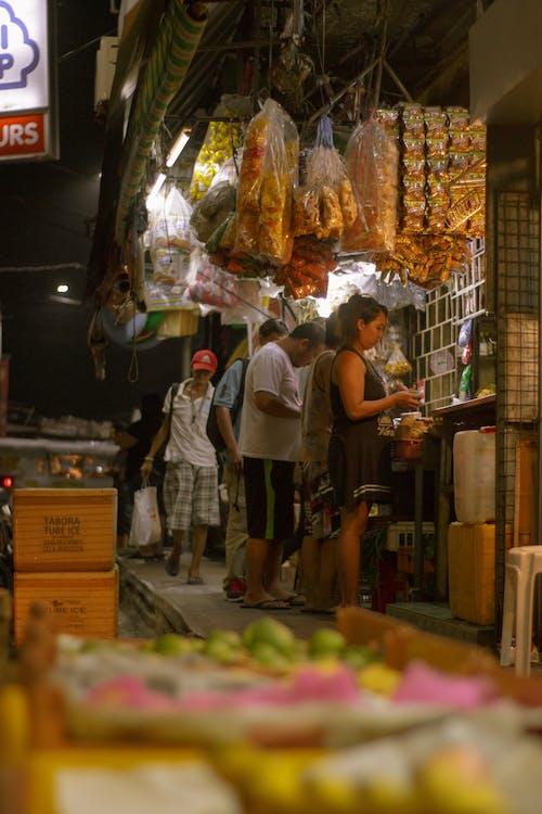 Бесплатное стоковое фото с магазины, ночная жизнь, ночь, продукты