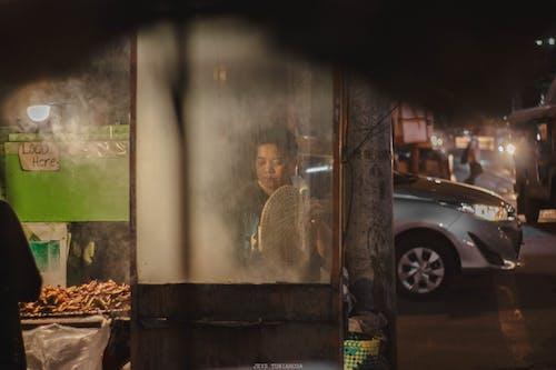 Бесплатное стоковое фото с готовка, гриль-барбекю, дым, жарка на гриле