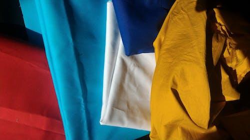 Free stock photo of blue, bright colours, cotton