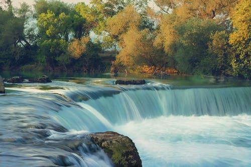 Free stock photo of autumn, water, waterfall