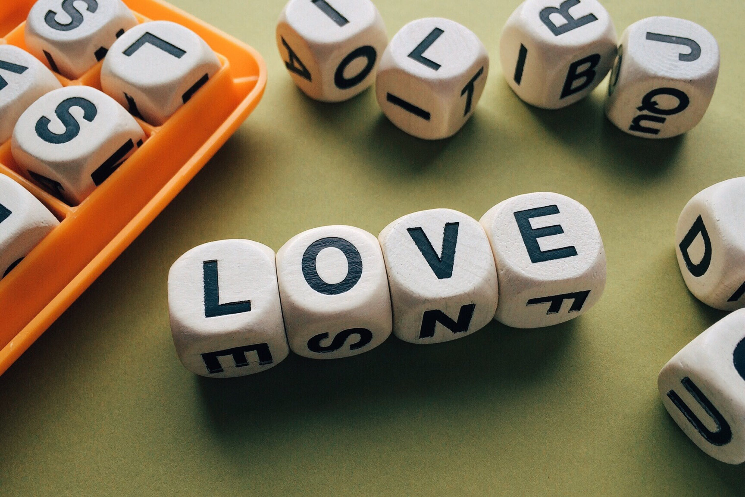 Love Scrabble Piece