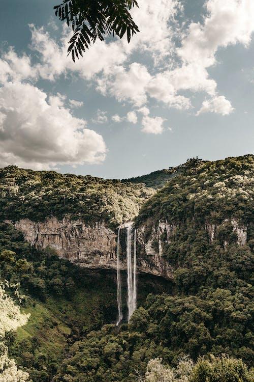 Scenic Photo Of Waterfalls During Daytime