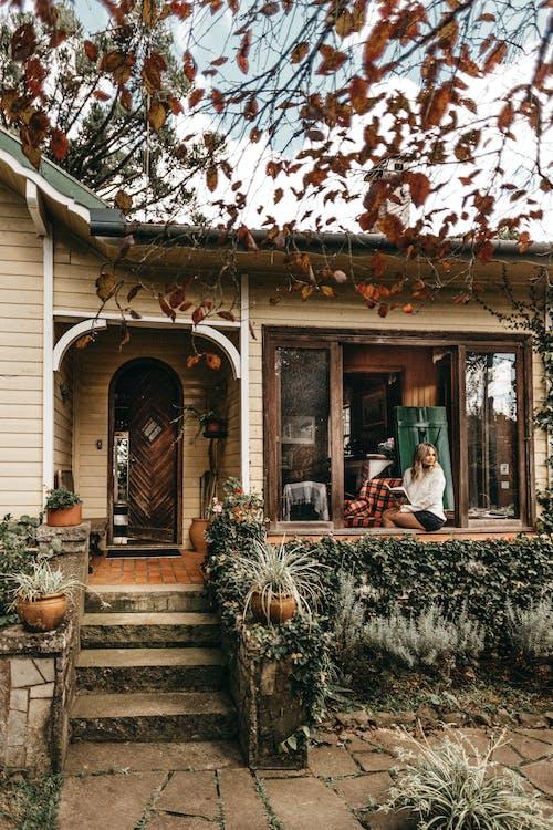 acasă, arhitectură, bungalou