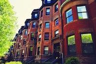 city, houses, landmark