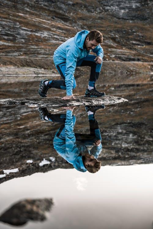 人, 冒險, 反射, 水 的 免费素材照片