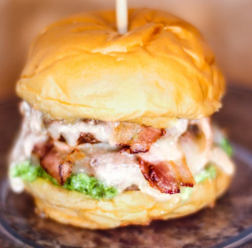 Бесплатное стоковое фото с гамбургер