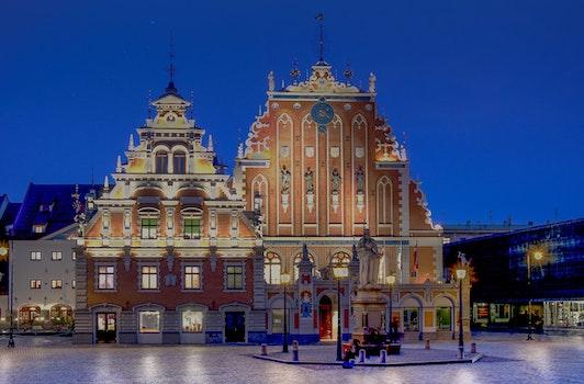 Free stock photo of city, landmark, night, dark