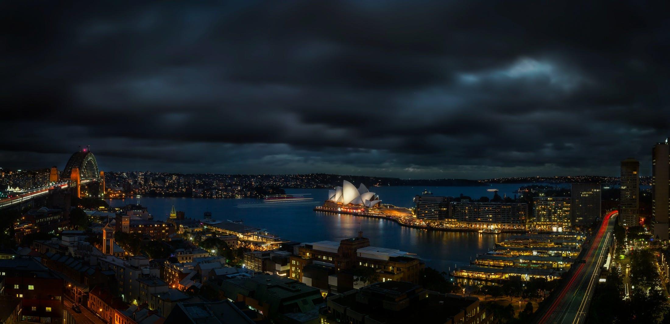 Top View Photography of Sydney Opera House, Australia