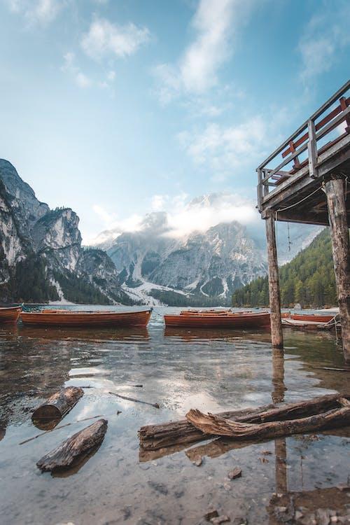 a l'aire lliure, barques, canoes