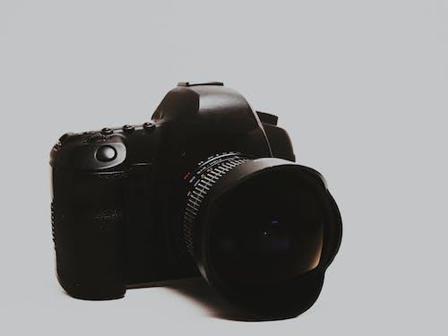 Free stock photo of camera, camera on white background, dslr
