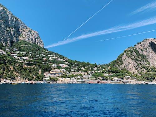 Бесплатное стоковое фото с амальфитанское, архитектура, вода, голубая вода