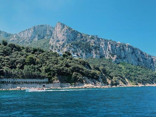 Free stock photo of amalfi, amalfi caost, blue sky, blue water