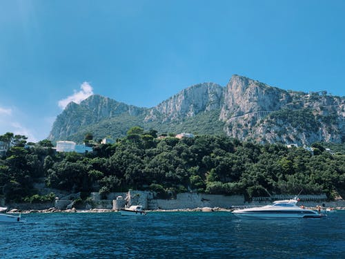 Free stock photo of amalfi, amalfi coast, blue sky, blue water