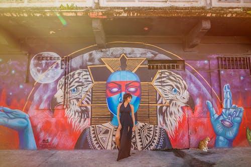 คลังภาพถ่ายฟรี ของ artsy, grafitti, กลางแจ้ง, การจัดวาง