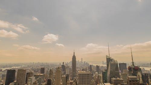 Foto d'estoc gratuïta de a l'aire lliure, càmera drone, ciutat, dia