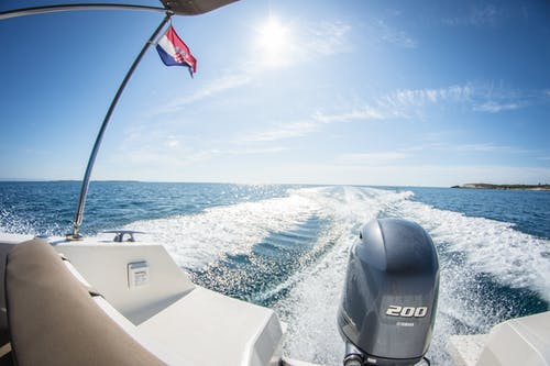 Foto d'estoc gratuïta de barca, Costa, Croàcia, fotografia gran angular